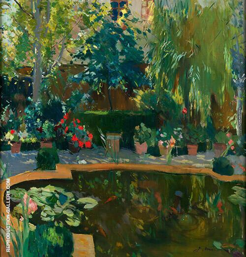Jardin de la Casa del Pintor By Joaquin Mir Trinxet