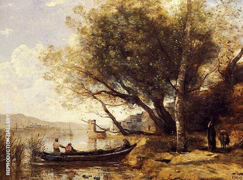 Bornova Izmir 1873 By Jean-baptiste Corot