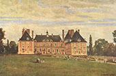 Chateau de Rosny 1840 By Jean-baptiste Corot