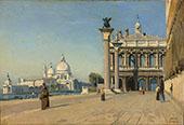 Morning in Venice 1834 By Jean-baptiste Corot