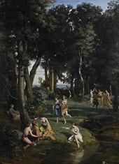 Silenus 1838 By Jean-baptiste Corot
