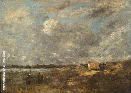 Stormy Weather Pas de Calais 1870 By Jean-baptiste Corot