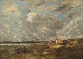 Stormy Weather Pas de Calais 1870 By Jean-baptiste Corot