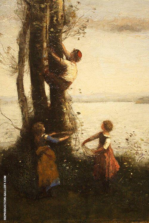 The Little Bird Nesters 1873 By Jean-baptiste Corot