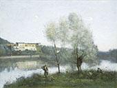 Ville d'Avray 1867 By Jean-baptiste Corot