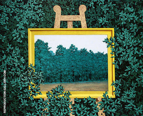 The Cascade - The Waterfall 1961 By Rene Magritte