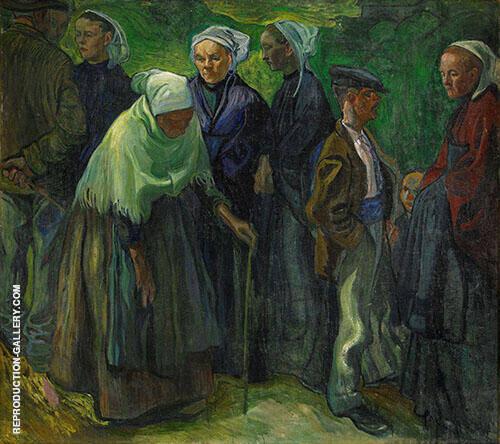 Bretagnare 1905 By Axel Torneman
