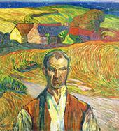 Farmer in Brittany 1905 By Axel Torneman