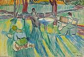 In The Garden 1907 By Axel Torneman