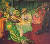 Night Cafe II 1905 By Axel Torneman