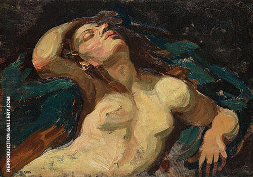 Portrait of a Woman By Axel Torneman
