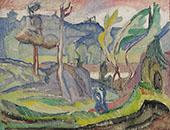 Shadows 1925 By Axel Torneman