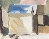 Bathing Boxes Brighton Beach By Clarice Beckett