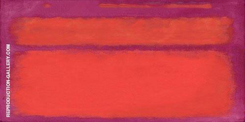 Magenta Inspired by Mark Rothko By Mark Rothko (Inspired By)