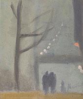 Collins Street 1931 By Clarice Beckett