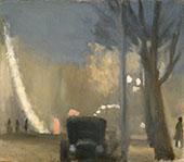 Collins Street Evening 1931 By Clarice Beckett