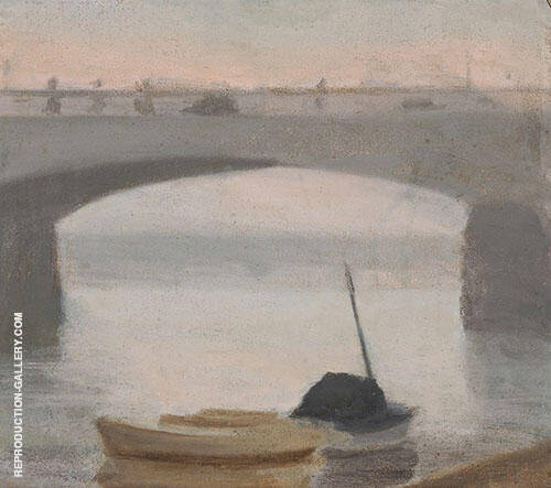 Evening on The Yarra By Clarice Beckett