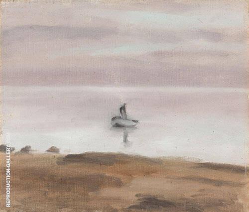 Evening Return By Clarice Beckett