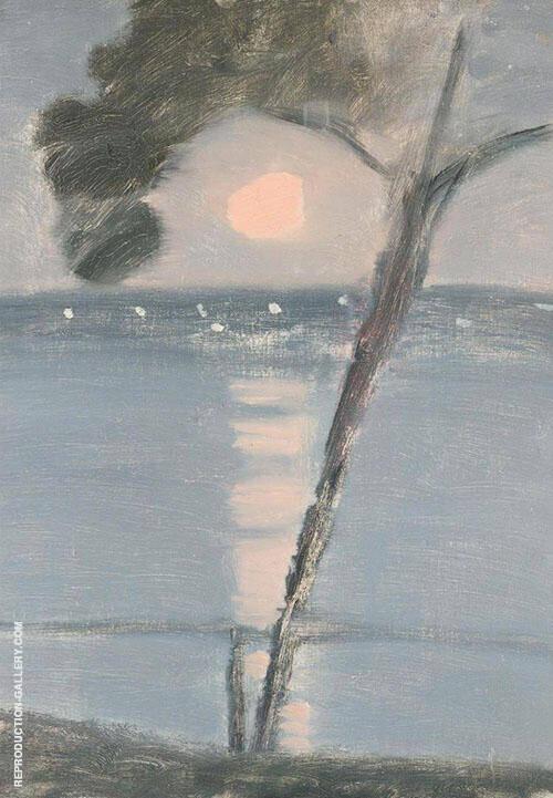Evening Scene By Clarice Beckett