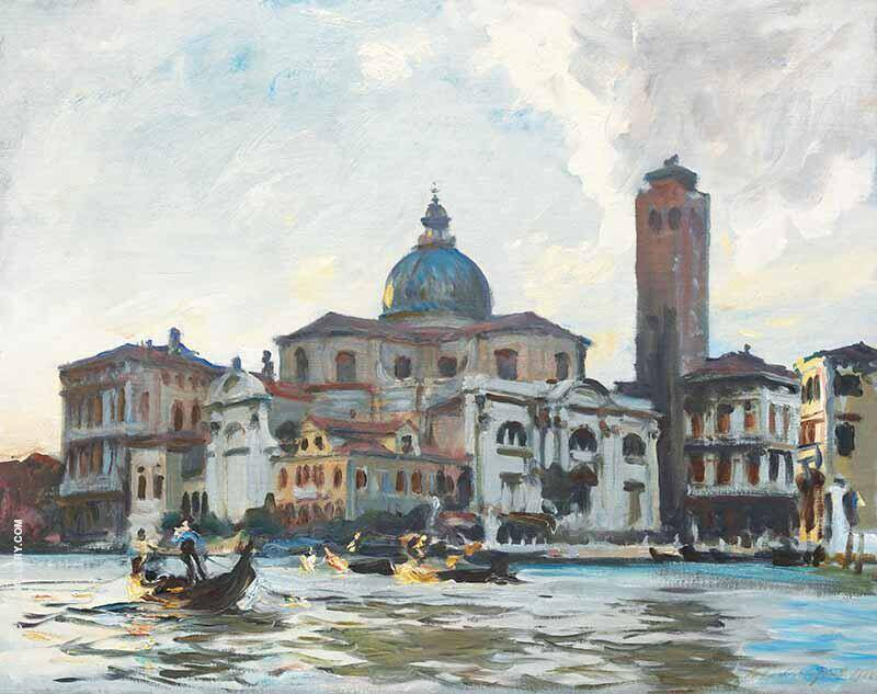 San Geremia, Grand Canal Venice, 1913 By John Singer Sargent