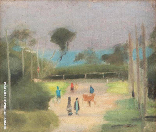 Out Walking By Clarice Beckett