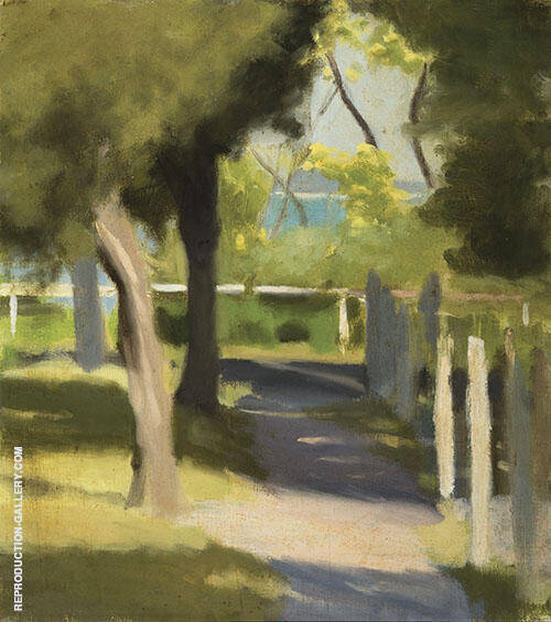 Path To The Beach By Clarice Beckett