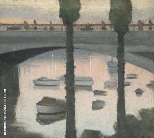 Princes Bridge 1930 By Clarice Beckett