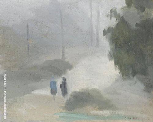 Rainy Morning 1930 By Clarice Beckett