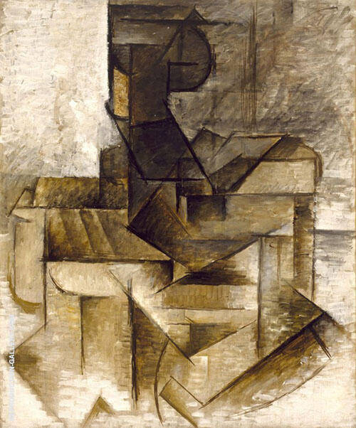 The Rower 1910 Painting By Pablo Picasso - Reproduction Gallery