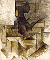 The Rower 1910 By Pablo Picasso