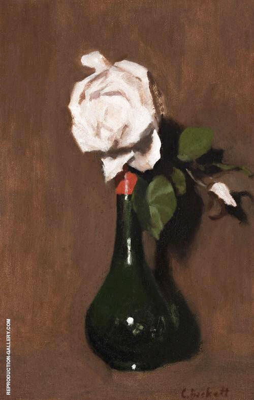 The White Rose By Clarice Beckett