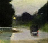 Wet Evening 1927 By Clarice Beckett