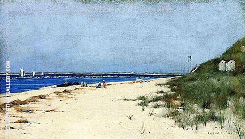 Beach and Dunes Nantucket By Dennis Miller Bunker