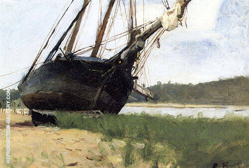 Beached 1881 By Dennis Miller Bunker
