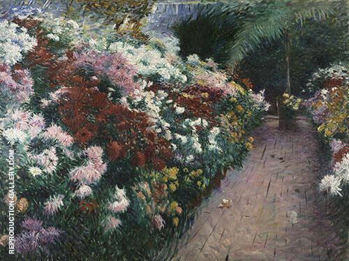 Chrysanthemums By Dennis Miller Bunker
