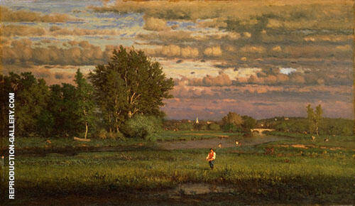 George Inness Clearing Up By Dennis Miller Bunker
