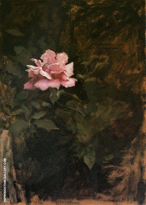 Pink Roses 1886 By Dennis Miller Bunker
