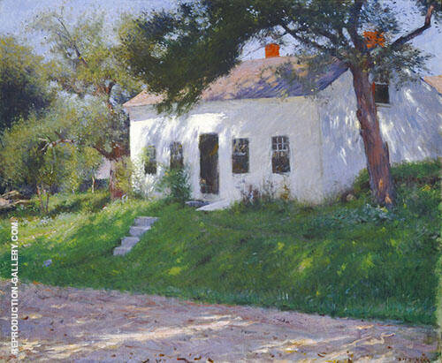Roadside Cottage 1889 By Dennis Miller Bunker