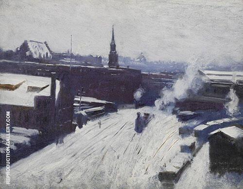 The Station 1886 By Dennis Miller Bunker