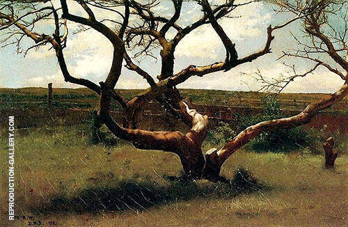 Tree 1885 Painting By Dennis Miller Bunker - Reproduction Gallery