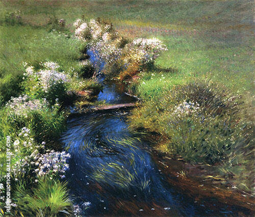 Wild Asters 1889 By Dennis Miller Bunker