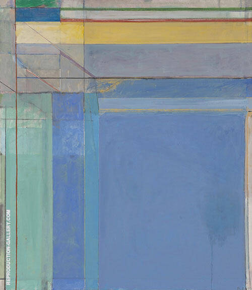 Ocean Park 79 1975 By Richard Diebenkorn