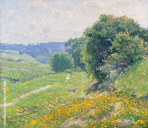 At Annandale Painting By Guy Rose - Reproduction Gallery