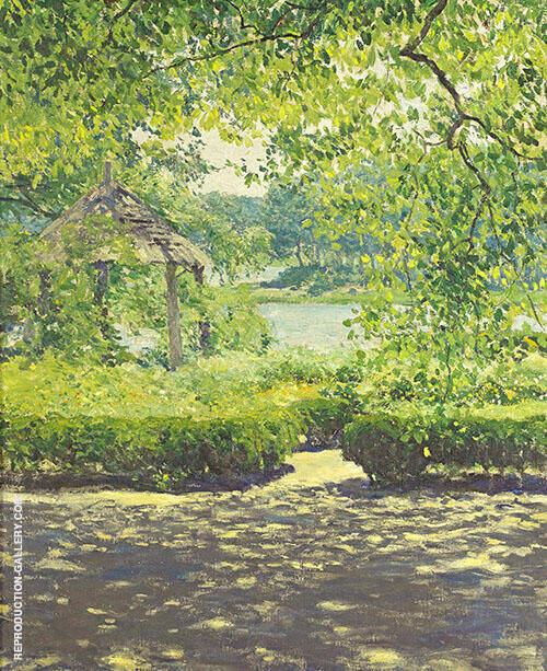at Duck Cove Painting By Guy Rose - Reproduction Gallery