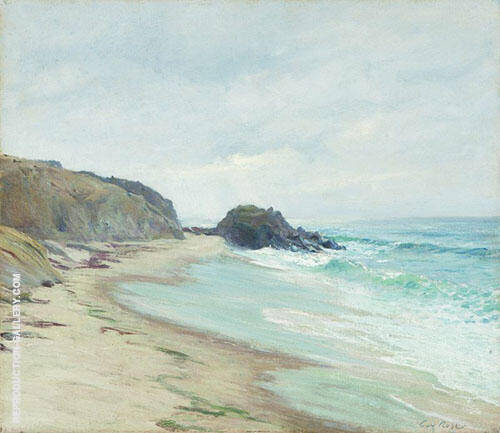 Black Rock Laguna 1915 Painting By Guy Rose - Reproduction Gallery