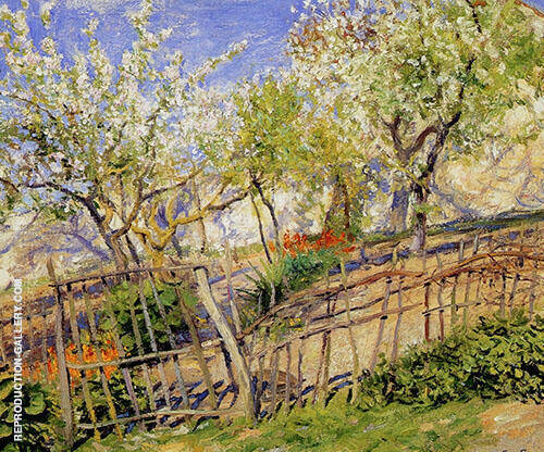 Blossoms and Wallflowers 1910 By Guy Rose