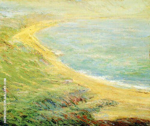 Bluff at Pourville 1910 Painting By Guy Rose - Reproduction Gallery