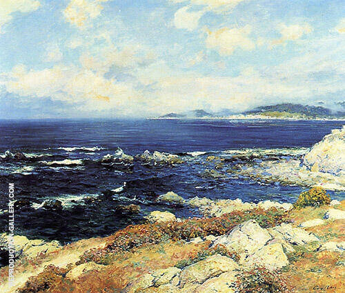 Carmel Coast 1919 Painting By Guy Rose - Reproduction Gallery