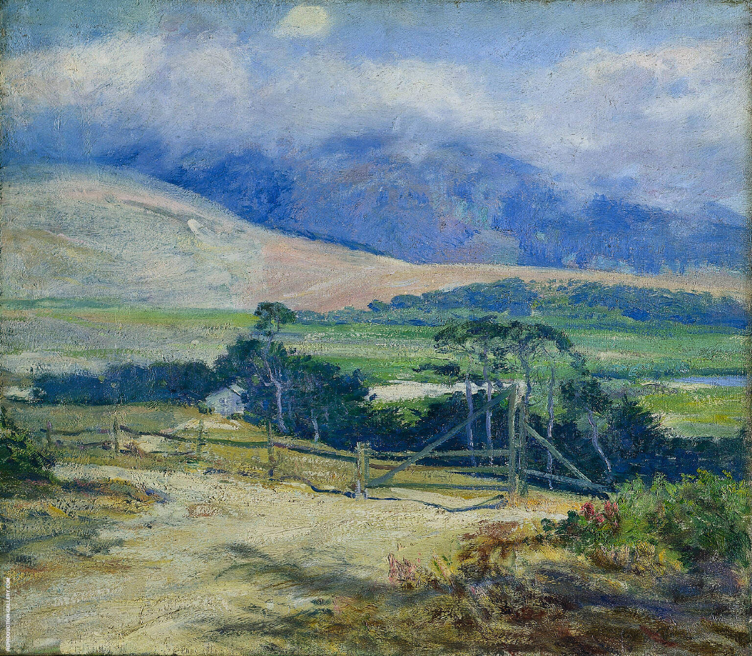 Carmel Hills 1914 Painting By Guy Rose - Reproduction Gallery