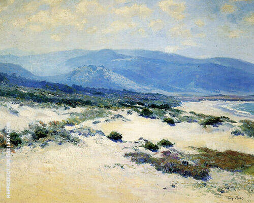 Carmel Shore 1919 Painting By Guy Rose - Reproduction Gallery